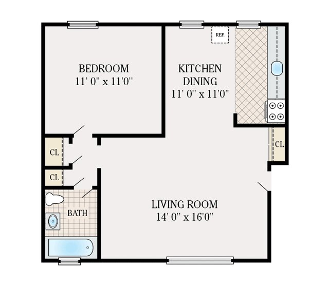 FLOOR PLANS - Corlies Manor Apartments for rent in Poughkeepsie, NY